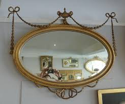 adam style gilt oval mirror 4734 sold from annabelles gilt shop