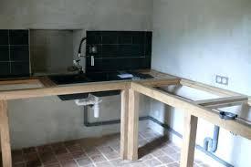 cuisine fait maison plan de travail cuisine sur pied fait maison newsindo co