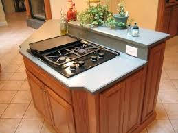 kitchen island designs with cooktop kitchen island stove top fitbooster me