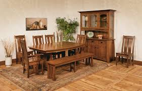 Amish Oak Dining Room Furniture Amish Dining Room Furniture
