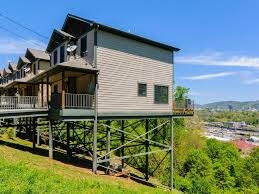 unique home on stilts in hip west asheville vrbo
