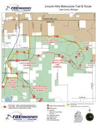 Michigan Dnr Lake Maps by Orvs Trail Maps U2013 State Of Michigan