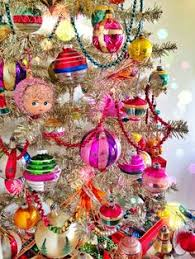 Handmade German Christmas Tree Decorations by Shiny Brite Ornaments On A White Tree Holiday Pinterest