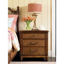 tommy bahama home 593 621 sojourn nightstand w woven raffia