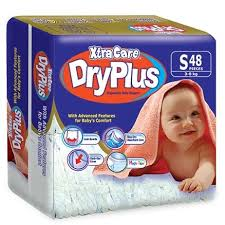Comfort Diapers Xtra Care Dry Plus Disposable Baby Diapers Small 48 Pieces Online