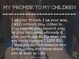 Love My Mom Meme - my promise to my children the path less taken