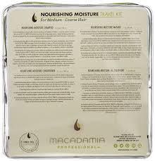 si e pour le dos macadamia professional nourishing moisture travel kit amazon co uk