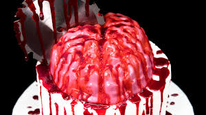 Cake Recipes For Halloween Bloody Jello Brain Cake Zombie Cake For Halloween Youtube