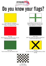 Green Yellow And Black Flag Rules Of Marshalling U2013 Offroad Motorsports Uk
