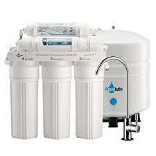 Faucet For Reverse Osmosis System Amazon Com Aqualutio Premium 5 Stage Reverse Osmosis Filtration