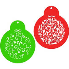 ornament cookie stencils 2