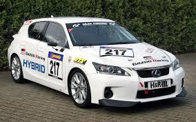 lexus sports car racing lexus entering modified ct200h hybrid in nurburgring endurance race