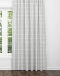 Grey Plaid Curtains Curtains Jll Home