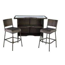 High Patio Chairs White Pub Table Bar Height Side Table Patio Furniture High Chairs