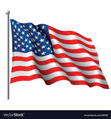 Us Flag Vector Free Download American Flag Royalty Free Vector Image Vectorstock