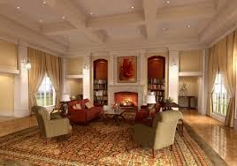 Home Design Ideas Living Room by Classic Interior Design