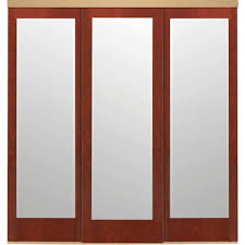 3 panel sliding doors interior closet doors the home depot 90