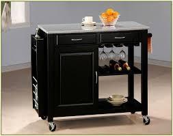 kitchen interesting kitchen cart with trash bin decorative wooden