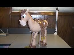 disney pixar toy story woody u0027s horse bullseye toy review