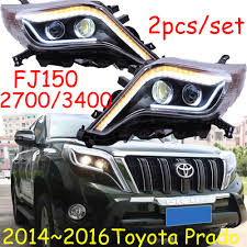 prado 2016 2014 2016 toyota prado fj150 2700 3400 hid bi xenon headlight with