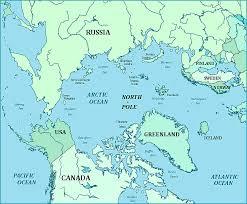canadian map quiz of arctic region
