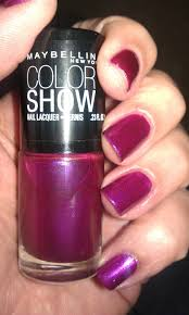 maybelline color show patent black 700 nail polish qty 4 ebay