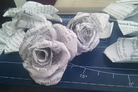 Make Your Own Paper Flowers - how to make flowers for scrapbooking and cards