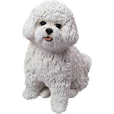 bichon frise long legs amazon com sandicast bichon frise with stocking christmas