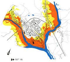 flood map space in images 2006 05 flood risk map of badger