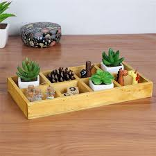 2018 rectangle wooden garden planter window box flower bed trough