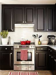 what color cabinets go with black appliances one color fits most black kitchen cabinets