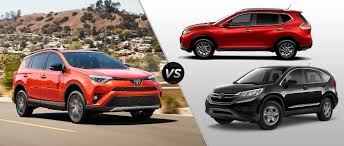 honda suv 2016 2016 toyota rav4 vs 2016 honda cr v vs 2016 nissan rogue