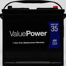 valuepower vp 35 battery 490 cca walmart com