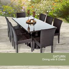 rectangular dining table for 8 rectangle patio table