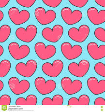 heart wrapping paper pink contour heart seamless pattern wrapping paper textile