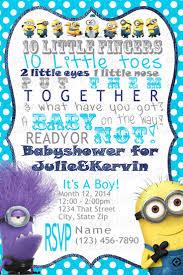 minion baby shower ideas baby shower invitations fascinating minion baby shower invitations