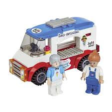 camper van lego wilko blox ice cream camper van assortment at wilko com