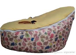2018 baby bean bag yellow birds baby beanbag chair cover only
