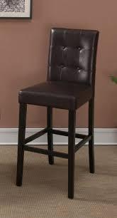 Brown Leather Bar Stool Furniture Spectacular Contemporary Dark Brown Teak Wood Bar