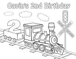 train tracks coloring pages eson me