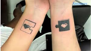 couples tattoos so and clever you ll want to copy them