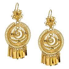 folklorico earrings mexican filigree earrings from oaxaca oaxaca filigree and mexicans