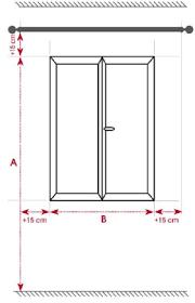 dimension porte chambre guide des mesures pour bien choisir ses rideaux prêts à poser