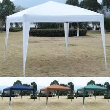 Patio Tent Gazebo Goplus 10 X10 Ez Pop Up Canopy Tent Gazebo Wedding Tent
