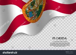 Florida Flag Facts Waving Flag Florida State Usa On Stock Vector 710358421 Shutterstock