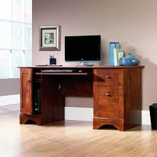 office great desks with drawers espresso polished mahogany wood