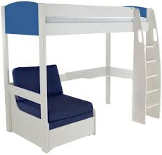 buy stompa high sleeper frame including desk and chair