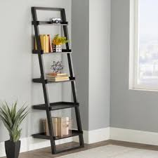 iron off the living room wood bookcase shelves display showcase flower jewelry rack shelf ikea leaning bookcases you ll love wayfair