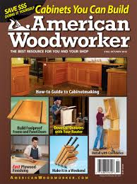 Popular Woodworking Magazine Subscription by American Woodworker 161 August September 2012 Preview Popular