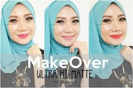 Lipstick Makeover Hi Matte da review fotd make ultra hi matte lipstick